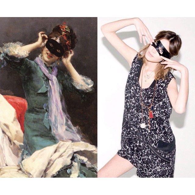 """Mi piace"": 2,148, commenti: 69 - Art-lexa Chung (@artlexachung) su Instagram: """"Preparing for the Costume Ball"" by Raimundo Madrazo / Alexa just posing for @jalousemag."""