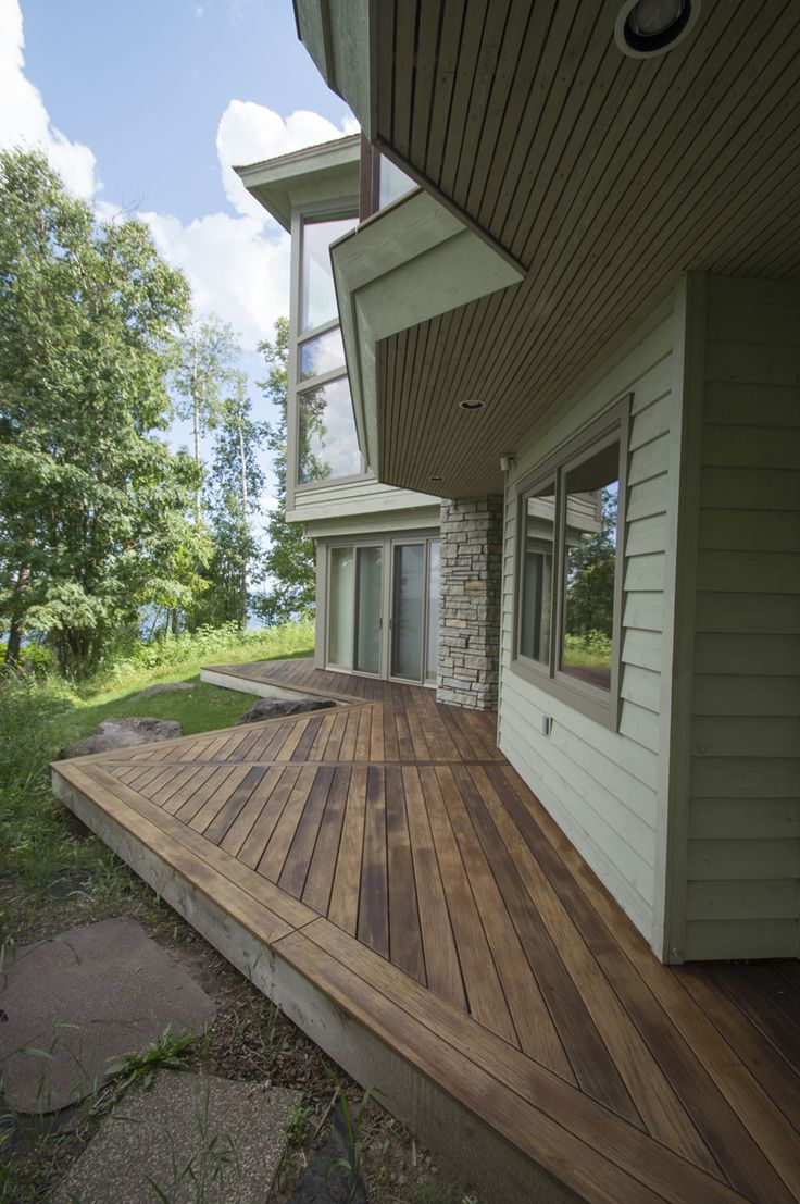 The best sustainable woods for exterior siding and decking - Ipe Decking Cedar Creek Lumber Building Materials Northcentral Cedarcreek Com
