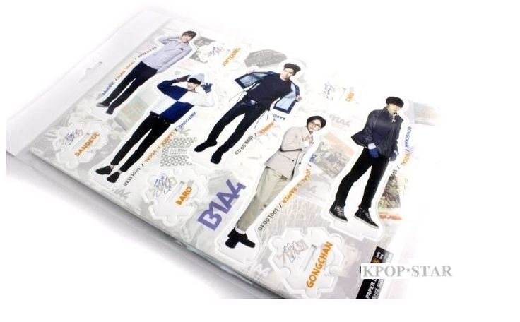 B1A4 Standing Paper Doll Korean Pop Star KPOP K POP K-POP Paper Doll