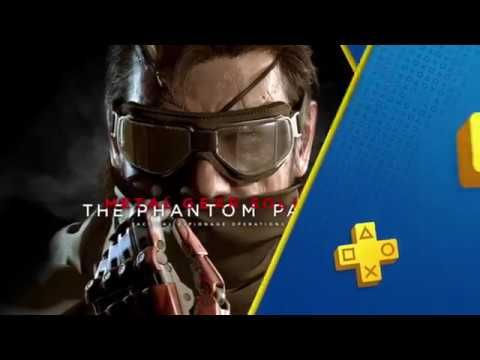Play MGS V For Free - PlayStation Plus - Free PS4 Games Lineup October 2017