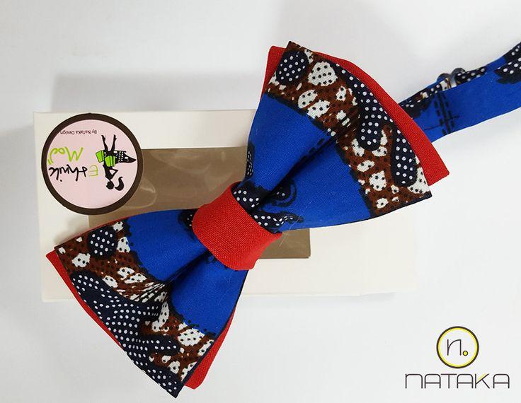 Idée cadeau Waxpap : noeud papillon en wax! de la boutique NATAKAdesign sur Etsy