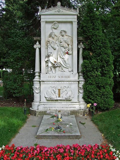 Grave of Franz Schubert, Vienna