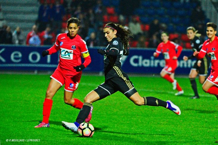 Alex Morgan    CDF : OL Féminin 5 - 0 Grenoble (01.27.2017)
