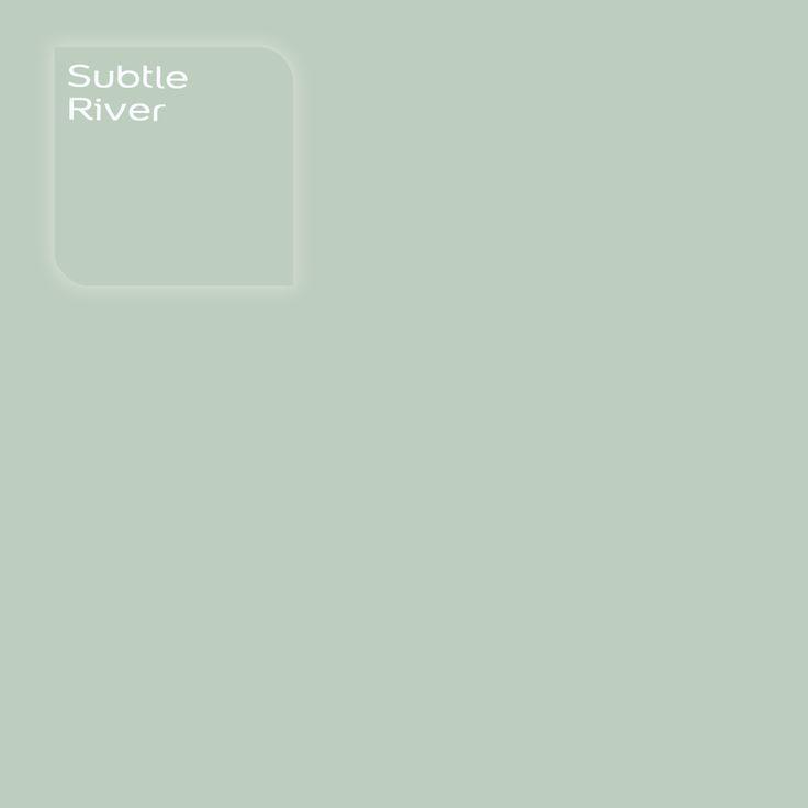 Pure by Flexa Colour Lab® kleur: Subtle River. Verkrijgbaar in verfspeciaalzaken.