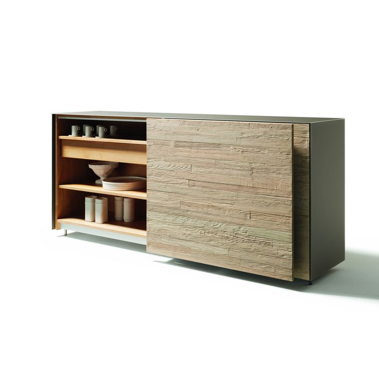 TEAM 7 | cubus pure | 2011 #sideBoard #solidWood #slider #studio
