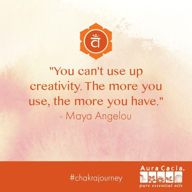 How do you use your creativity? #chakrajourney