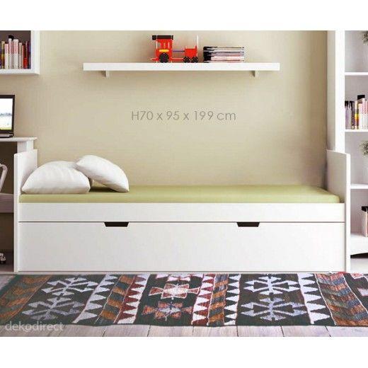 camas nido madera blanca 269€