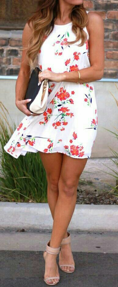..floral summer dress