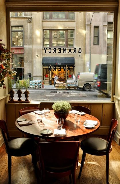 Gramercy Tavern - one of the best meals I ever had. Go for the tasting menu for dinner.