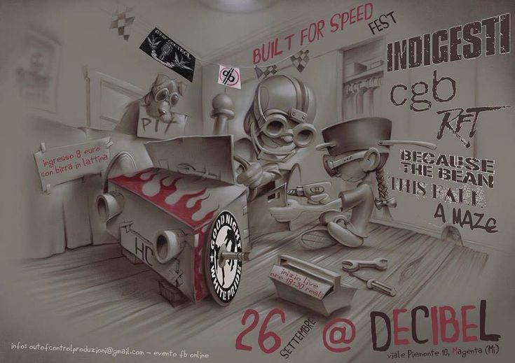 #Punk news:  BUILT FOR SPEED FEST (Aggiornamento)