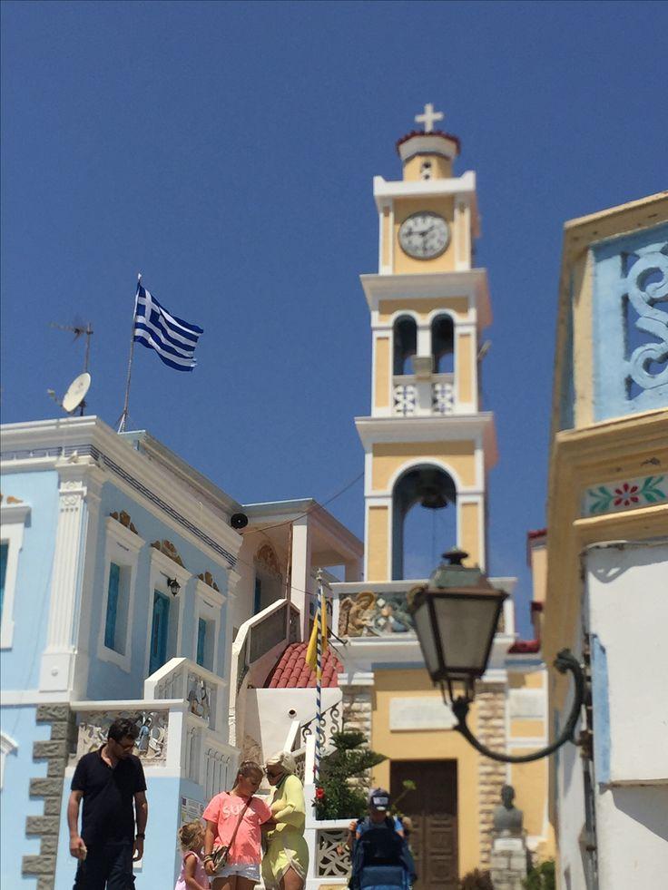 Κάρπαθος Karpathos island, Olimpos village.