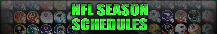 2012 NFL Season Schedules | NFL Team + Weekly Schedules For 2012-2013 #2013 #games #2012