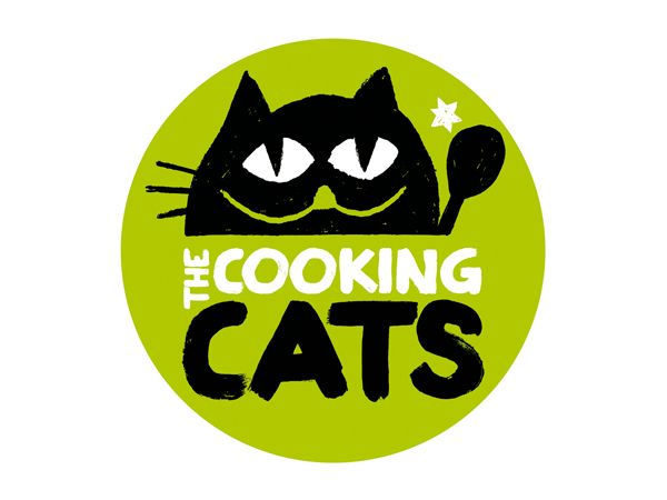 The Cooking Cats – Identity by David Maninger, via Behance