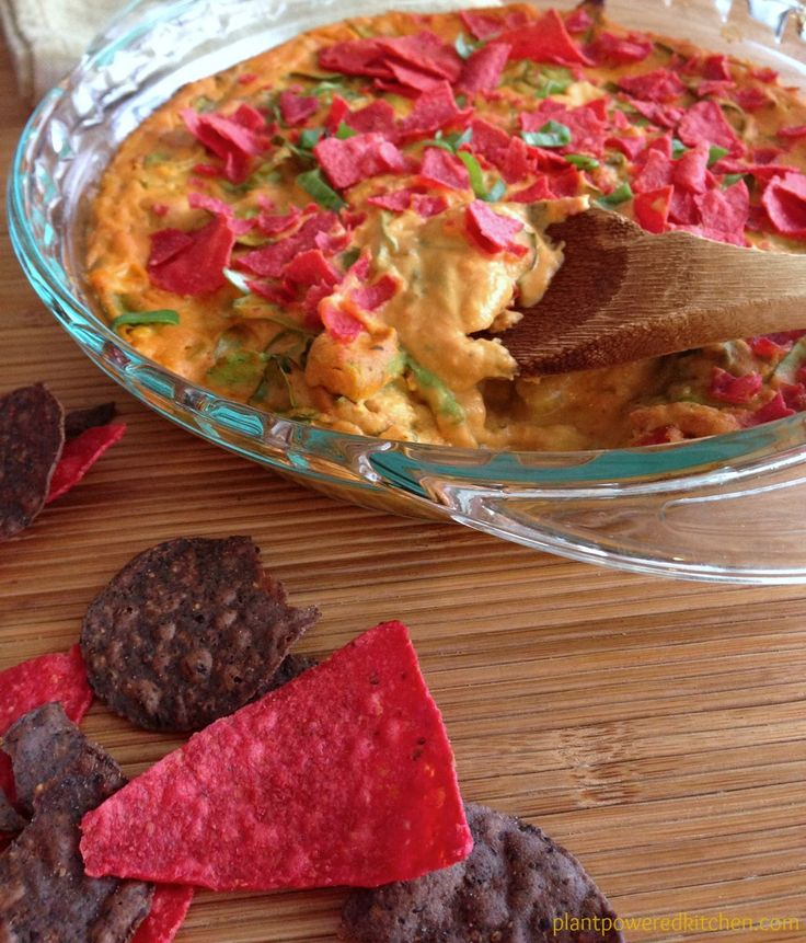 Life-Affirming Warm Nacho Dip from The Oh She Glows Cookbook; photo credit: Angela Liddon