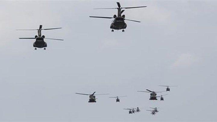 Νέα τουρκική πρόκληση: Προσπάθησαν να εμποδίσουν ελικόπτερο με Έλληνα στρατηγό να πάει στην Παναγιά