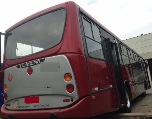 busscar ano 2000 curto mercedes 1417 onibus urbano