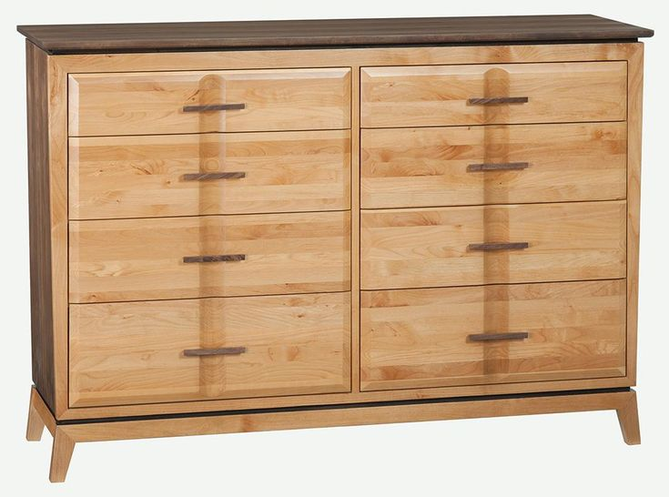 Whittier Wood Furniture Finished 1143duet Duet 6 Drawer Addison Chest Lifestyle Furniture Furniture 6 Drawer Chest
