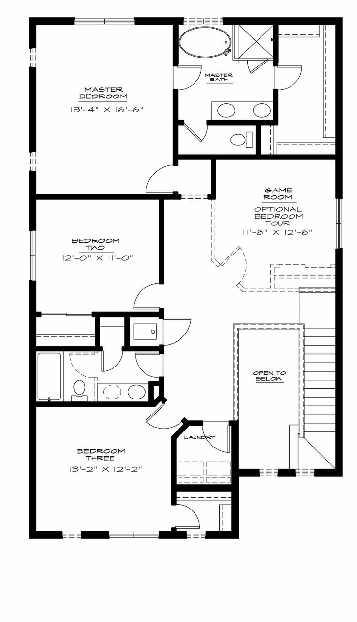 65 best house plans multi level houses images on pinterest for Multi level floor plans