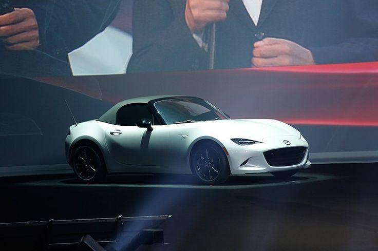 2015 New Mazda Roadster, MX-5 revealed