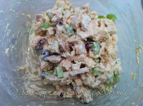 COPYCAT: Starbucks Tarragon Chicken Salad Sandwich. LOVE this! Just made it for lunch :)