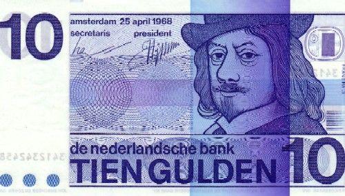 10 Gulden biljet