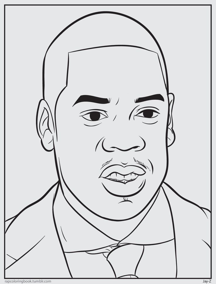38 best images about rap coloring on pinterest trinidad for Rapper coloring pages