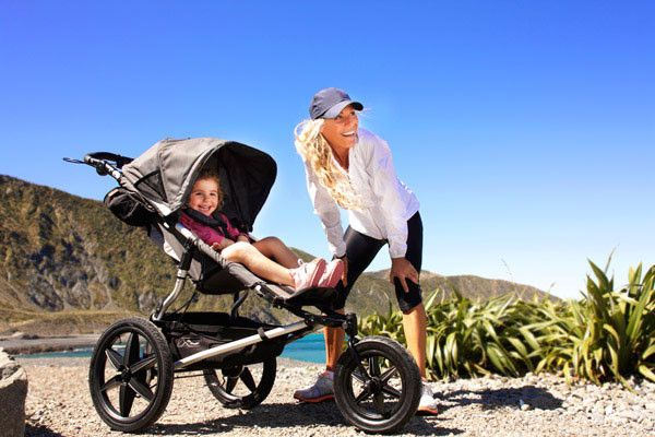 Mountain Buggy Terrain   Shock Absorbing suspension for a smooth ride Zip covered gear tray that keeps everything in Follow the sun canopy for ultimate sun protection 3-mode front wheel settings for lock back/forward and full swivel carrycot compatible a multi adjustable handle