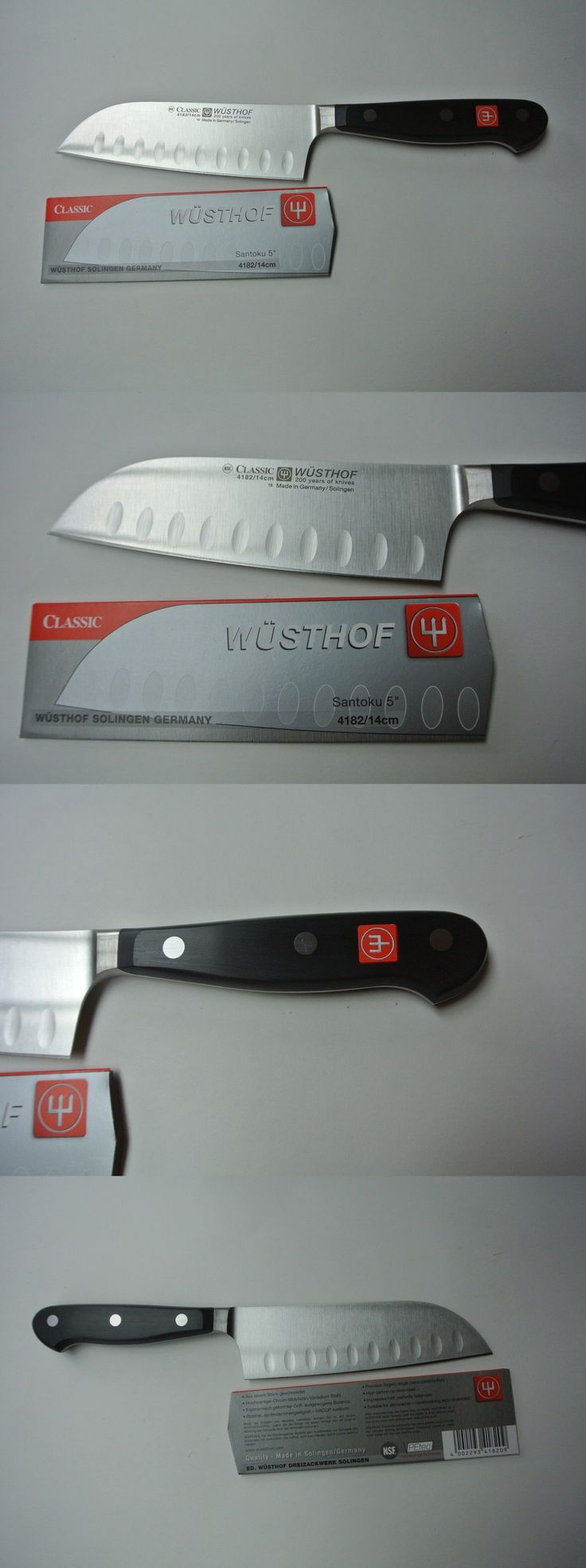 the 25 best wusthof knives ideas on pinterest wusthof knife set kitchen and steak knives 177005 brand new wusthof classic 5 santoku nsf petec