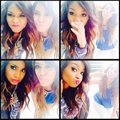 Fifth Harmony Normani and Dinah