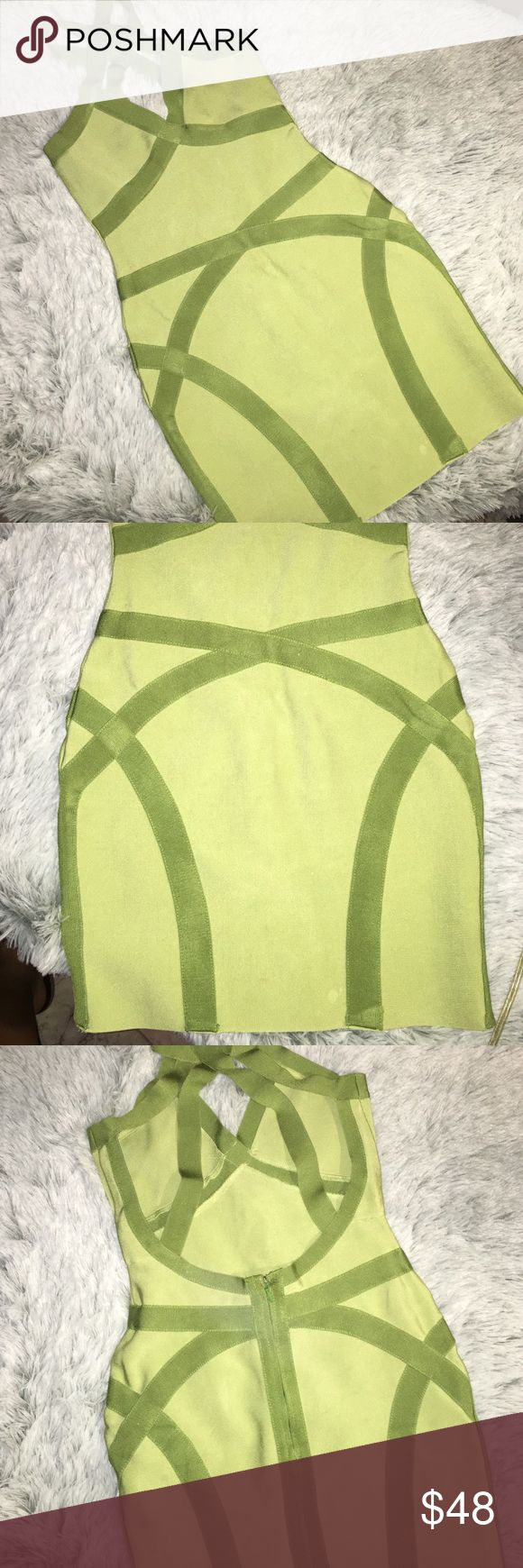 Sexy Bandage Dress Super cute and high end! Purchased at a Nordstrom Sample sale without tags! Worn once and fits amazing Dresses Mini