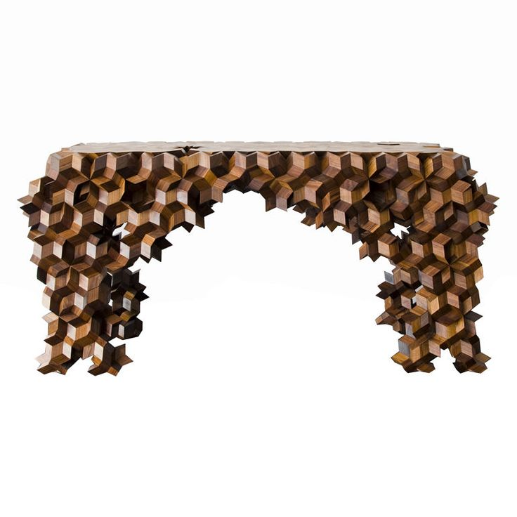 Quasi Console Table by Aranda/Lasch from Johson Trading Company:  http://www.1stdibs.com/furniture_item_detail.php?id=457403