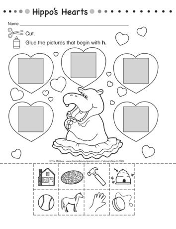 10 Best ideas about Letter H Worksheets on Pinterest   Cut and ...