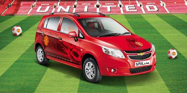 Chevrolet launches Beat, Sail U-VA Manchester United editions