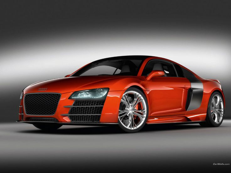 My dream car. Red Audi R8. (I liked it before 'Ana Grey' got one)