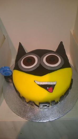 D Minion Batman Cake