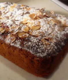 Picture this . . .  Marzipan and  mincemeat baked into a delicious tea bread . . .    Moist . . . mmm . . . . spicy flecks of mincemeat he...