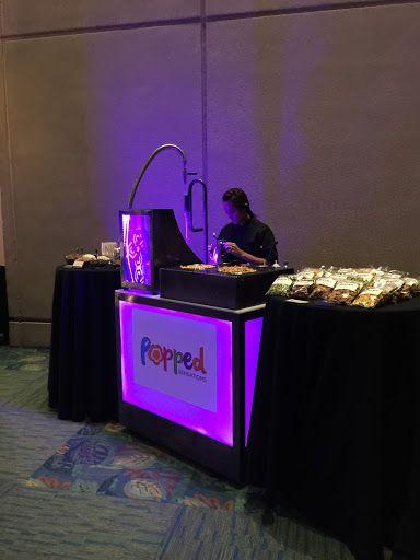 Liquid nitrogen infused frozen popcorn catering for events, tradeshows and conferences. Orlando, Florida, Washington DC. Las Vegas  www.poppedsensations.com