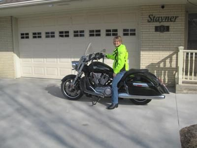 2010 Victory Crossroads: I stated riding again after 30 years. In June of 2009 I started riding on a Honda 750 Aero. In November of 2009 I fell in love with a Kawasaki 900 LT.