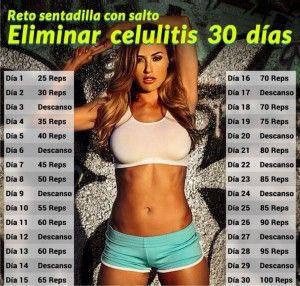 Reto 30 dias para Eliminar la celulitis