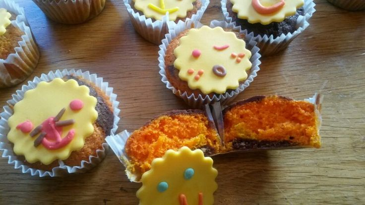 Tijger cupcakes