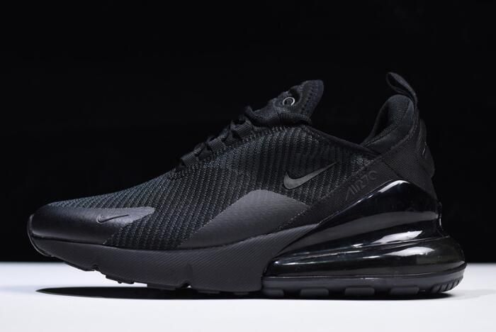 Nike Air Max 270 Black Dark Grey Men s and Women s Size AH6789-006 ... 7aa5913e31975