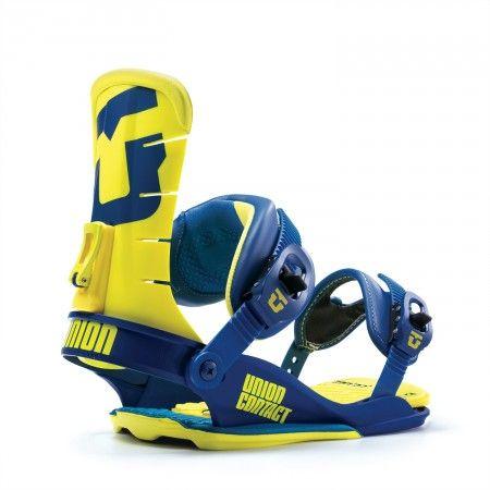 Wiązania snowboardowe na prezent UNION CONTACT BLUE/YELLOW - UNION - Twój sklep ze snowboardem   Gwarancja najniższych cen   www.snowboardowy.pl   info@snowboardowy.pl   509 707 950