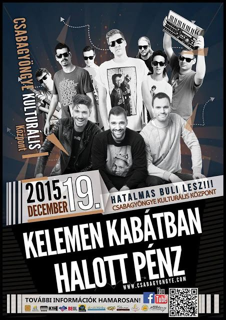 Plakat104.hu: The Biebers, Kelemen Kabátban és Halott Pénz Békés...