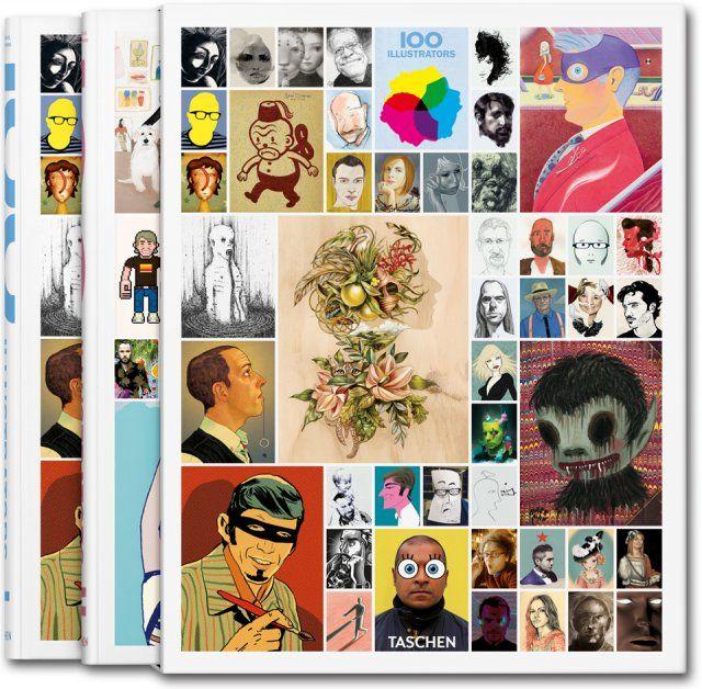 100 illustrators - taschen