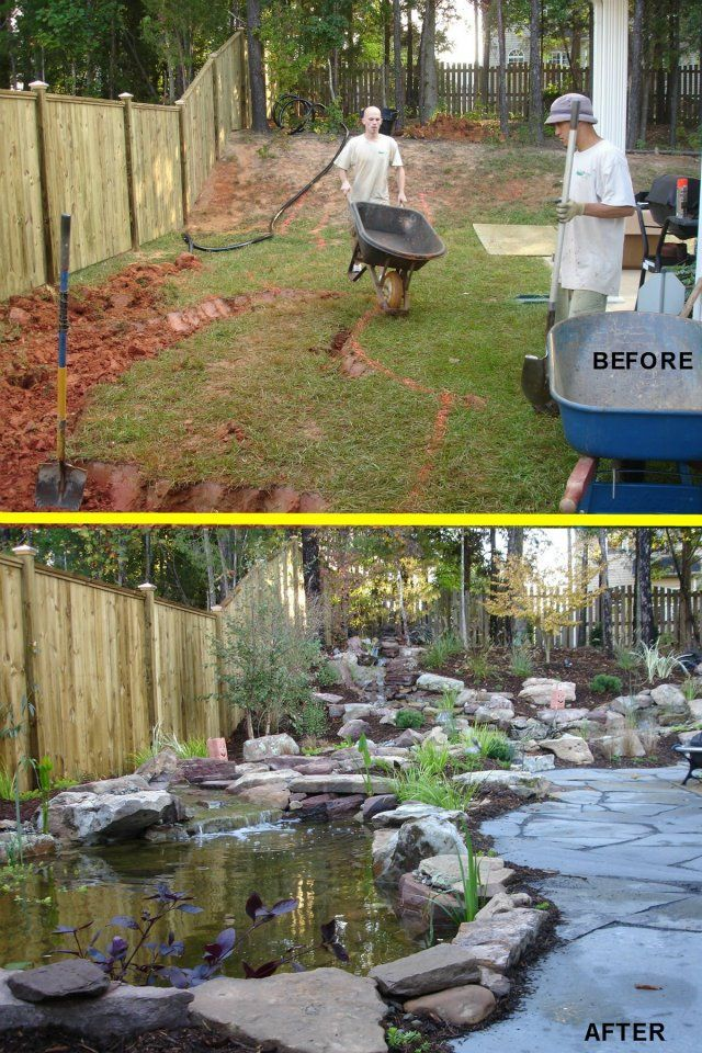 1000 ideas about pond landscaping on pinterest ponds for Koi pool water gardens thornton