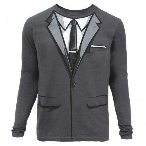 Archer Suit Long Sleeve Shirt