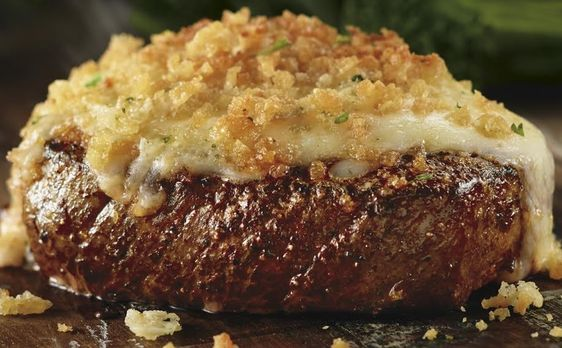 Longhorn Steakhouse Style Parmesan Crusted Topping