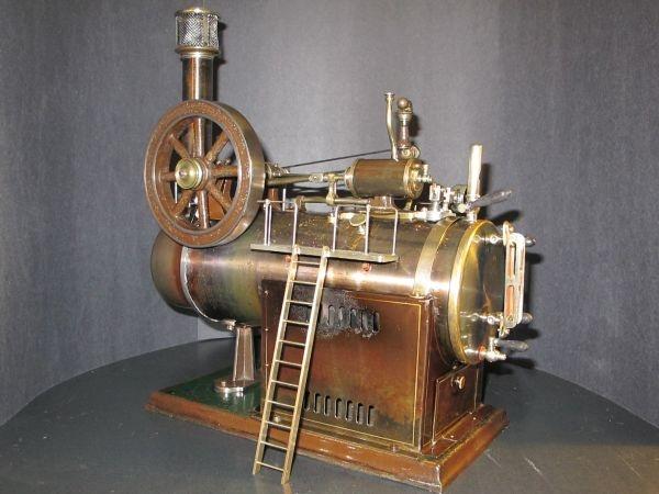 Old Toy live steam engine