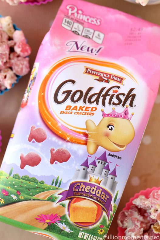 I created this easy princess snack mix in partnership with Goldfish® crackers. All opinions are my own. #GoldfishTales Kaia is a girly girl through and through. When she was born I was in boy mom m...