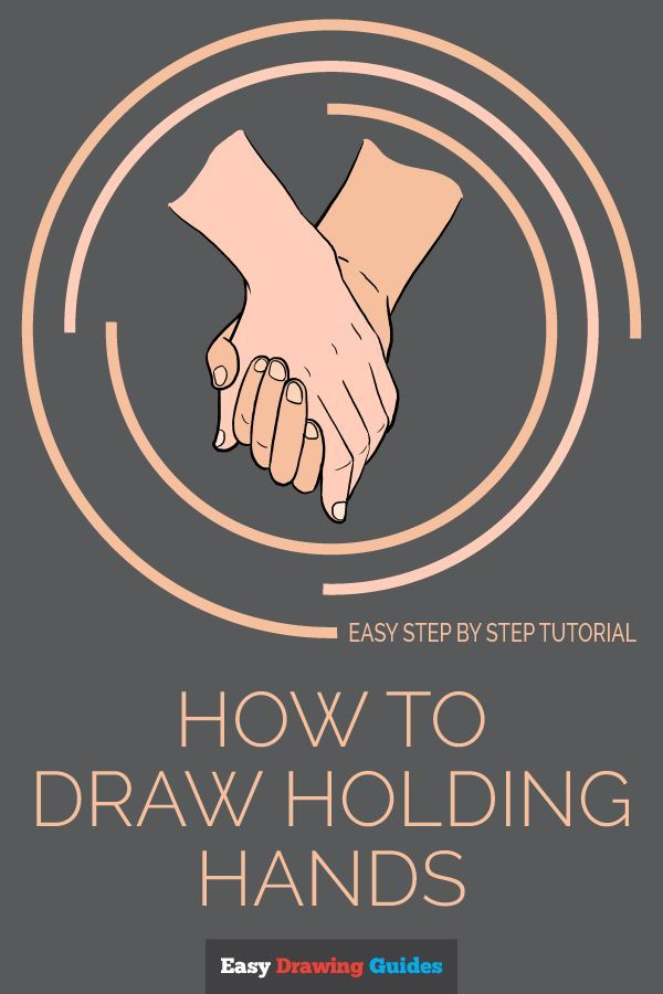 How To Draw Holding Hands Really Easy Drawing Tutorial Dessins